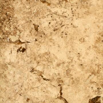ტრავერტინი - ღია ყავისფერი, CC - Honed & Filled